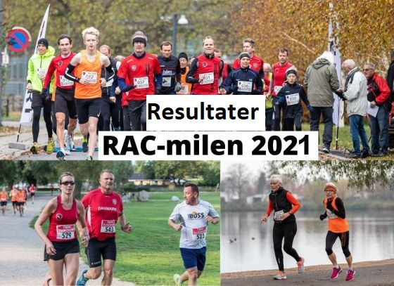 Resultater fra RAC-mil 16. okt 2021